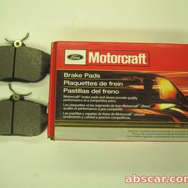 Колодки тормозные передние Ford Windstar 3.0-3.8 95-98 Lincoln Continental 93-94 3.8 Motorcraft BR31 YU2Z2V001AA